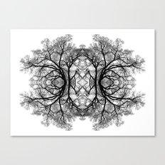 The wonderful world of trees. Canvas Print