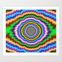 Eye Teaser Art Print