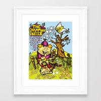 The Champion slugger Framed Art Print