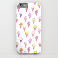 iPhone & iPod Case featuring ice cream pattern by BITN
