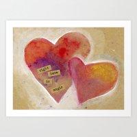 Jenn's Valentine Art Print