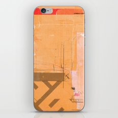 CROSS OUT #33 iPhone & iPod Skin