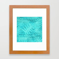 palm breeze Framed Art Print