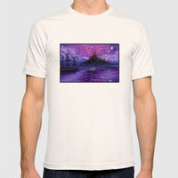 The Lantern Scene Mens Fitted Tee Natural SMALL