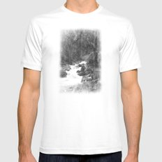 Whiteout Yosemite-2 White SMALL Mens Fitted Tee
