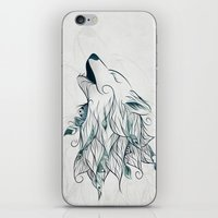 Wolf iPhone & iPod Skin