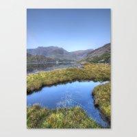 Ogwen's Pond Canvas Print