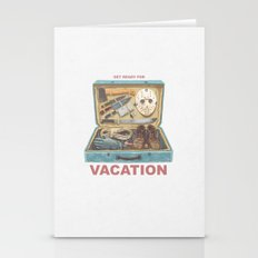 Get Ready For Vacation Stationery Cards