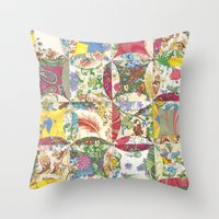 style nostalgia Throw Pillow