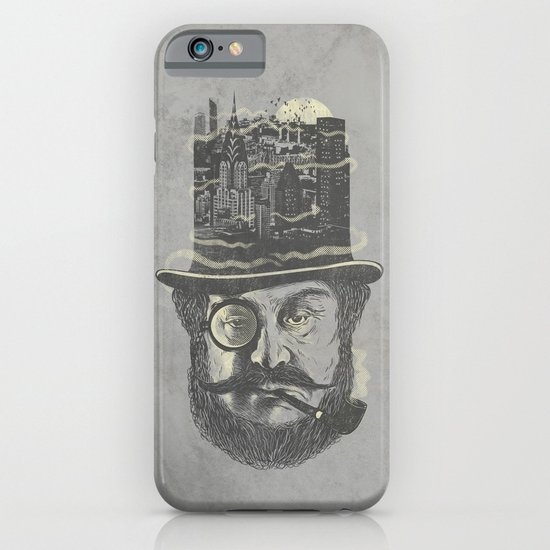 Old man hatten iPhone & iPod Case