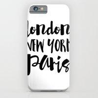 London New York Paris - … iPhone 6 Slim Case
