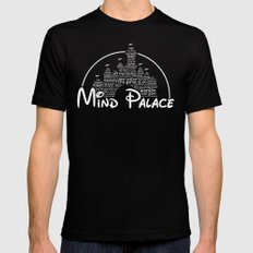Mind Palace Mens Fitted Tee Black SMALL