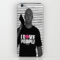 Love People iPhone & iPod Skin