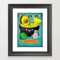 Guacamole Framed Art Print
