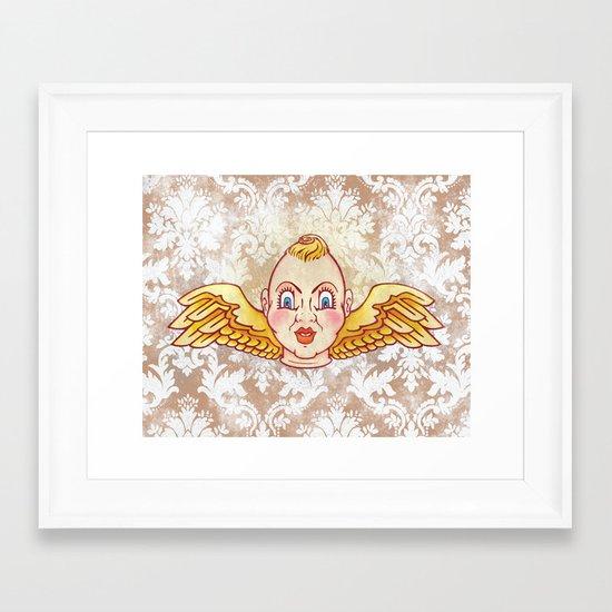 Cherub Kewpie Framed Art Print