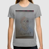Bootleg Series: Cyborg F… Womens Fitted Tee Athletic Grey SMALL