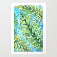 Tropical Healing Art Print