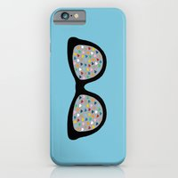 iPhone & iPod Case featuring Heart Eyes by Project M