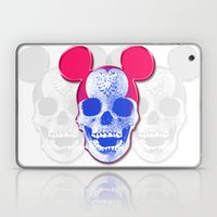 Mickey Mouse Skullface (… Laptop & iPad Skin
