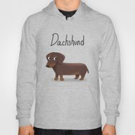 Dachshund - Cute Dog Ser… Hoody