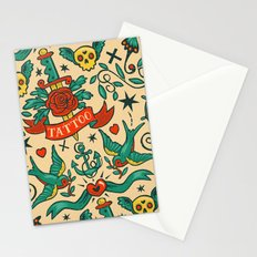 Tattoos Stationery Cards