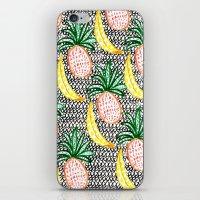 Pineapple And Banana iPhone & iPod Skin
