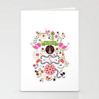 Bird Love Stationery Cards