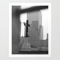 Ground Zero Art Print