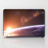 Earth And Rising Sun iPad Case