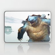 Laptop & iPad Skin featuring Pokemon-Blastoise by RJ Palmer