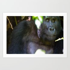 Just Thought of Something Funny. Art Print