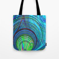 Re-Created  Hurricane 3 by Robert S. Lee Tote Bag