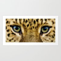 Eye Of The Tiger - Paint… Art Print