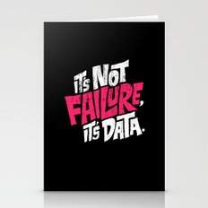 It's Not Failure, It's D… Stationery Cards