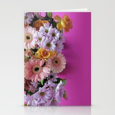 Pink 'n Flowers Stationery Cards