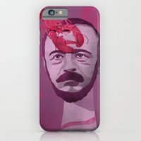 iPhone & iPod Case featuring Gérard de Nerval by Joanna Gniady