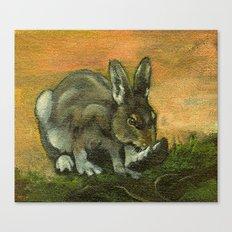 BunnyFoot Canvas Print