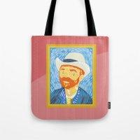 Selfie Van Gogh Tote Bag