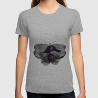 Moth Womens Fitted Tee Athletic Grey SMALL