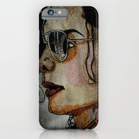 MJ In Profile iPhone 6 Slim Case
