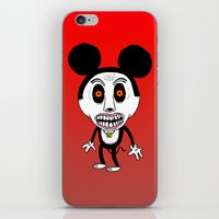 Weird Mickey iPhone & iPod Skin