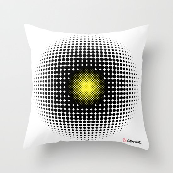 PULSATIONS Throw Pillow