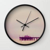 Over The Ocean Wall Clock