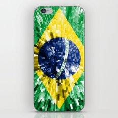 Brazil Flag - Extend iPhone & iPod Skin