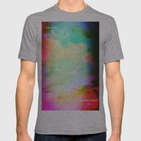 No Matter where Mens Fitted Tee Athletic Grey SMALL