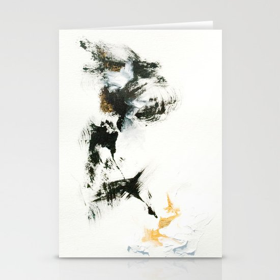 Snowstorm Stationery Card