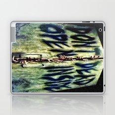 Walking Dead Dont Open Laptop & iPad Skin