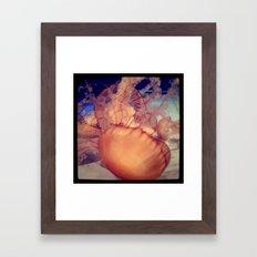 jellies. Framed Art Print