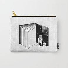 Reading is Dreaming with Your Eyes Open Carry-All Pouch