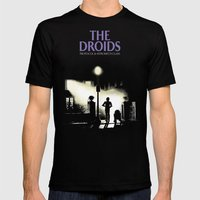 The droids Mens Fitted Tee Black SMALL
